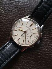 VINTAGE SWISS Silvana Cronografo Orologio da uomo in scatola