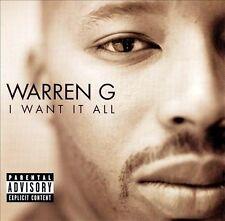 New: &, Snoop Dogg, Mack 10, Warren G: I Want It All Explicit Lyrics Audio Casse