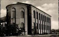Trier an der Mosel Postkarte 1971 gelaufen Partie an der Basilika evang. Kirche