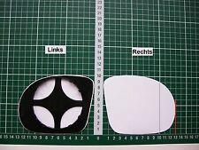 Außenspiegel Spiegelglas Ersatzglas BMW 3 E46 Typ M3 Sport Li o Re asph Kpl