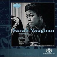 Sarah Vaughan (Self-Titled) CD (NOT SACD) 2000 Verve Master Edition Cliff Brown