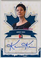 2011 IN THE GAME CANADIANA AUTO: KAREN KAIN - AUTOGRAPH BALLET DANCER SWAN LAKE