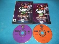 THE SIMS 2 Nightlife EXPANSION PACK PC CD-ROM v.g.c. POST VELOCE COMPLETO