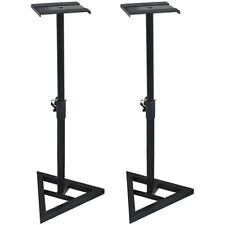 "PA Speaker Stands - Holds up to 10"" Speakers - SS3518-K 2 Piece Set Deco Gear"