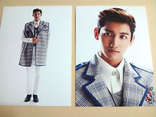 SM TOWN COEX ARTIUM Official GOODS SCHOOL OZ Post card TVXQ - Max Changmin