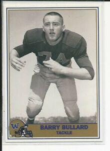 1992 Washington Greats/Pacific #64 Barry Bullard