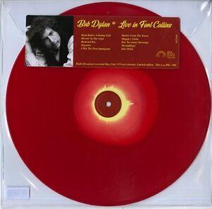 DYLAN BOB LIVE IN FORT COLLINS VINILE LP COLORATO NUOVO SIGILLATO