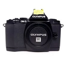Olympus OM-D EM-5 16MP 3'' Screen Digital Camera (Black) w/ Extras