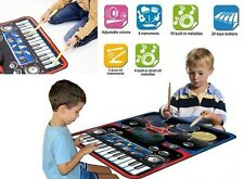 Piano Keyboard For Kids Mat Electric Drum Set Xmas Best Gifts 3 4 5 6 Year Boys
