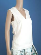 TED BAKER WHITE FLORAL EMBROIDERED BLOUSE TOP BNWT UK 8 TED 1 USA 4 RRP £119