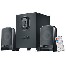 Speaker System with Subwoofer Multimedia Bluetooth/Aux/Usb/Sd/Fm/R emote Control