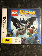 DS LEGO Batman The Video Game USA VERSION NOT SEALED