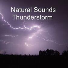 NATURAL SOUNDS THUNDERSTORM RELAXATION DEEP SLEEP STRESS RELIEF CALM NATURE CD