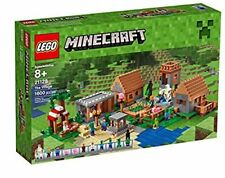 LEGO Minecraft 21128 The Village Brick Block Pack 1600pcs NIB Fresh Case RETIRED