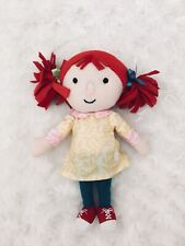 Teal Plush Soft Toy Doll Cbeebies Abney And Teal