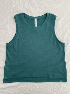 Womens Lululemon Train To Be Tank Top Shirt Dot Camo Green - SIZE 6 - New No Tag