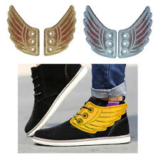 2 Pair Unisex Shoes Angel Wings Accessories for Sneakers Shoes Decorations