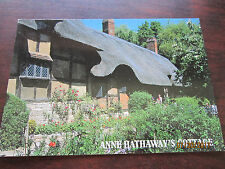 ANNE HATHAWAY'S Cottage Shottery England Samon Photo Vintage Post Card unused