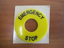 DECA Emergency Stop Sticker