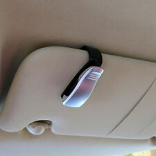 Car Sun Visor Glasses Holder Eyeglass Silver Cosmetic Catcher Clip Accessories