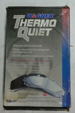 NEW WAGNER THERMO QUIET REAR BRAKE PADS PD374 / D374 FITS VEHICLES ON CHART