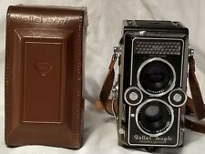 Vintage Rollei Magic TLR Camera w/Xenar 1:3 Lens + Case, Made in Germany EUC