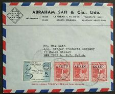 COLOMBIA # BOGOTO ADVERTISING POSTAL COVER to US 1954