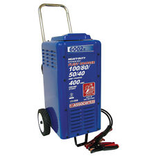 Associated Battery Charger 6/12/24 Volt, 100/80/50/40 Amp Charge w/ Crank Assist