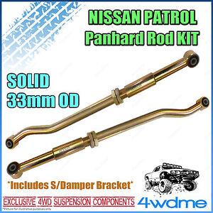 Nissan Patrol GQ GU Series 1 Y60 Y61 4WD Adjustable Front & Rear HD Panhard Rods