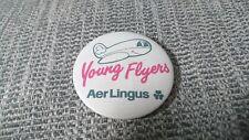 Aer Lingus airways Young Flyers badge Ireland Irish airline