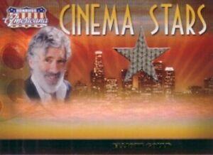 Elliott Gould worn sweater swatch Donruss Americana Cinema Stars card #/500 MASH