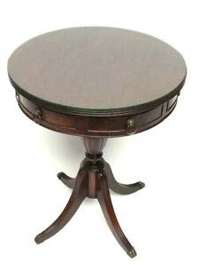 Vintage Regency Style Yew Drum Table [7094]