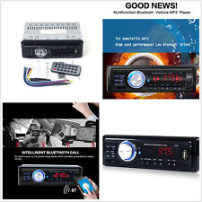 1131B 12V Bluetooth 1-Din In-Dash Car Auto Audio Stereo MP3 Player AUX FM Radio