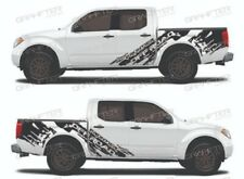Nissan Frontier Adhesive / Sticker / Decal Graphic Side Stripe Kit (Model 2)