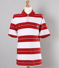 Timberland Slim Fit Red Stripe Polo Shirt XL