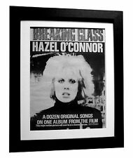 Lyrics Gift Signed Art Hazel O/' Connor Poster Print Breaking Glass