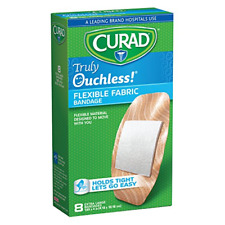 Curad Truly Ouchless Flex Fabric Bandages X-Large 8 Count