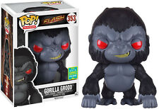 "FUNKO POP VINYL DC THE FLASH GORILLA GRODD 6"" SUPER SIZED SDCC 2016 EXCLUSIVE"