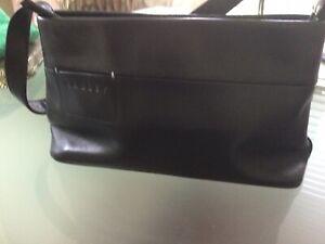 Small Black Leather Handbag By RADLEY