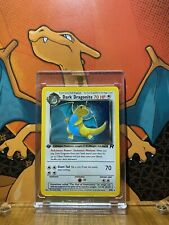 Dark Dragonite Holo Team Rocket 1st Edition NM, 5/82 Pokemon Card.