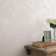 Superfresco Spring Blossom White Shimmer Wallpaper
