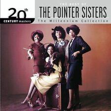Millennium Collection - 20th Century Masters, Pointer Sisters, Good Original rec