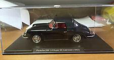 "DIE CAST "" PORSCHE 356 1.6 SUPER 90 CABRIOLET (1962) "" SCALA 1/24  AUTO VINTAGE"