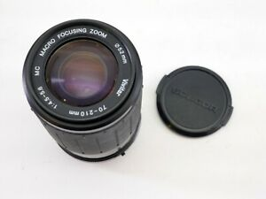 Vivitar Lens 70-210mm MC 1:4.5-5.6 Macro PENTAX PK mount - LS3