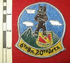 6th Battalion, 20th Artillery Heavily Embroidered Patch