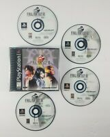 Final Fantasy VIII 8 (Sony PlayStation 1/PS1)Black Label 4 Discs (No Manual)