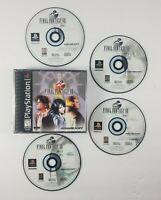 Final Fantasy VIII 8 (Sony PlayStation 1/PS1)Black Label 4 Discs (No Manual)