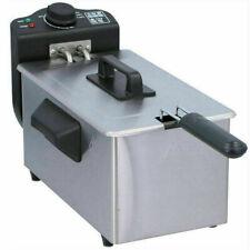 Friggitrice Elettrica Professionale Acciaio Inox 3 Litri EFT-2000