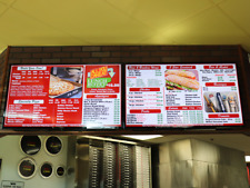 Restaurant Menu Board Player W/ Our FREE DMB Software W/ Picture Menu Design