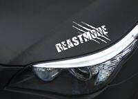 Limited Edition  Beast mode Aufkleber Monster Raubtier Krallen Sticker Tuning